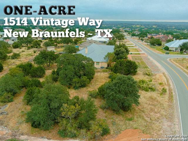 1514 Vintage Way, New Braunfels, TX 78132 (MLS #1492221) :: Santos and Sandberg