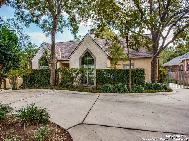 256 Montclair Ave, Alamo Heights, TX 78209 (MLS #1492515) :: The Lugo Group