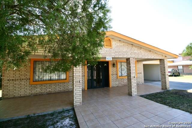 402 Las Moras, Eagle Pass, TX 78852 (MLS #1493998) :: Santos and Sandberg