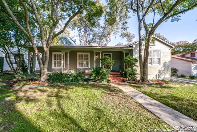 225 Retama Pl, Alamo Heights, TX 78209 (MLS #1494743) :: Carter Fine Homes - Keller Williams Heritage