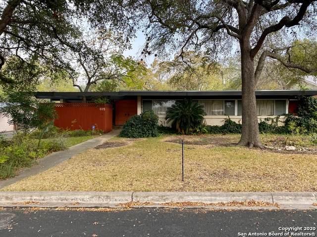 915 Haltown Dr, San Antonio, TX 78213 (MLS #1495989) :: The Glover Homes & Land Group