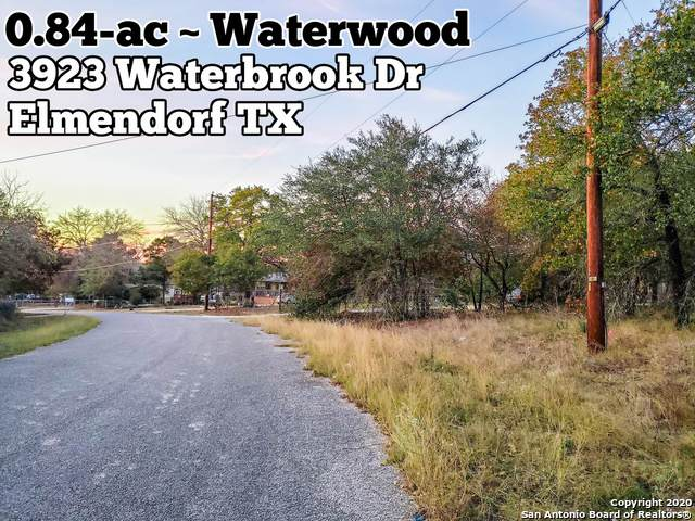 3923 Waterbrook Dr, Elmendorf, TX 78112 (MLS #1496480) :: The Glover Homes & Land Group