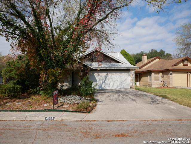 4353 Knollshire, San Antonio, TX 78247 (MLS #1496563) :: The Glover Homes & Land Group