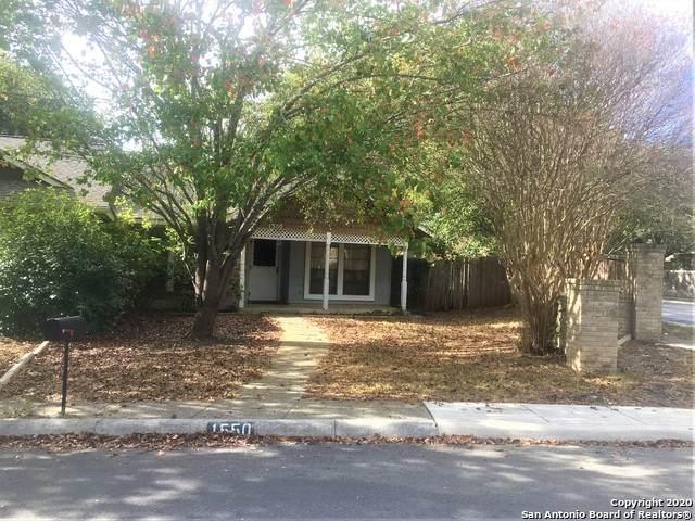1550 Beauchamp St, San Antonio, TX 78213 (MLS #1496839) :: The Mullen Group   RE/MAX Access