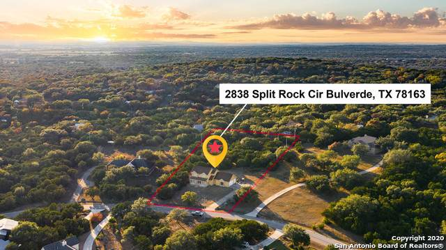 2838 Split Rock Circle, Bulverde, TX 78163 (MLS #1497585) :: The Real Estate Jesus Team
