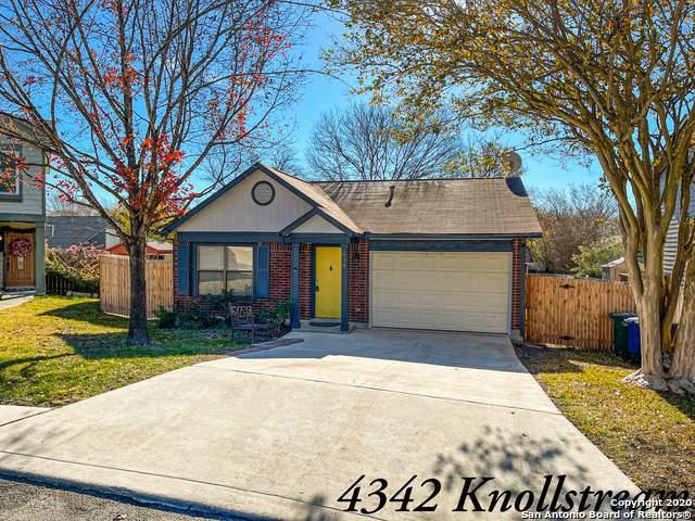 4342 Knollstream, San Antonio, TX 78247 (MLS #1500869) :: JP & Associates Realtors