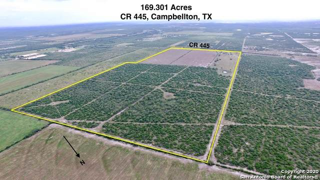 169.3 AC Cr 445, Campbellton, TX 78008 (MLS #1500978) :: Carter Fine Homes - Keller Williams Heritage