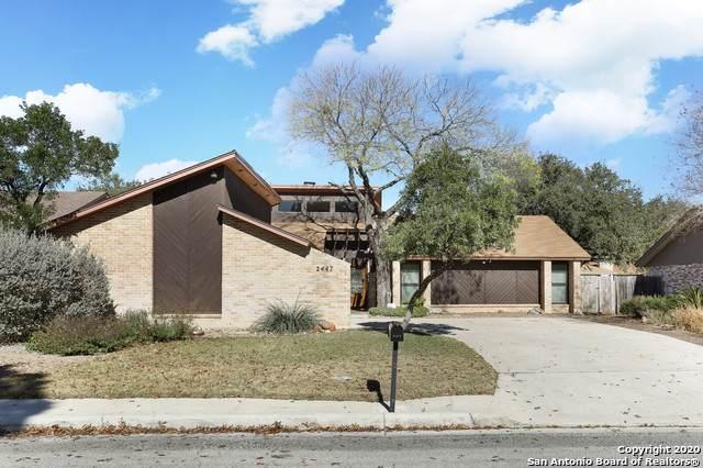 2447 Blue Quail St, San Antonio, TX 78232 (MLS #1501287) :: Alexis Weigand Real Estate Group