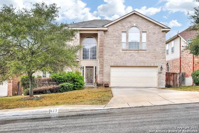 423 Coyanosa Falls, San Antonio, TX 78258 (MLS #1504097) :: Alexis Weigand Real Estate Group