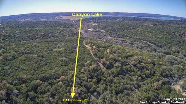 2114 Johnson Rd, Canyon Lake, TX 78133 (MLS #1504178) :: The Glover Homes & Land Group