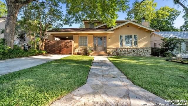 506 Pershing Ave, San Antonio, TX 78209 (MLS #1507520) :: The Gradiz Group