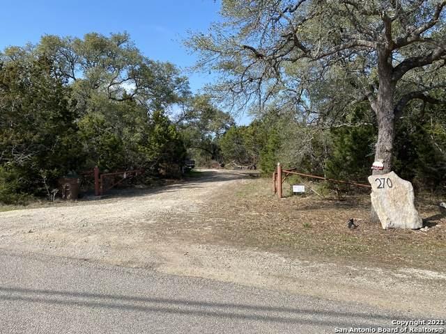 270 Eden Ranch Dr, Canyon Lake, TX 78133 (MLS #1510193) :: Berkshire Hathaway HomeServices Don Johnson, REALTORS®