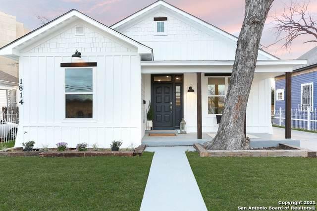 1814 N Comal, San Antonio, TX 78212 (MLS #1511178) :: Concierge Realty of SA