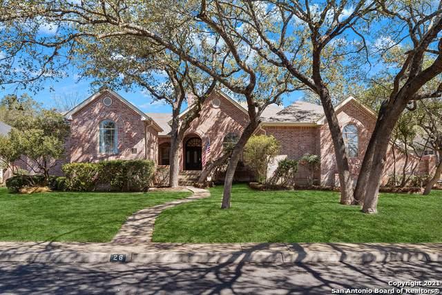 26 Inwood Manor, San Antonio, TX 78248 (MLS #1512203) :: Keller Williams City View