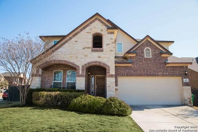 433 Bison Ln, Cibolo, TX 78108 (MLS #1512485) :: Keller Williams City View