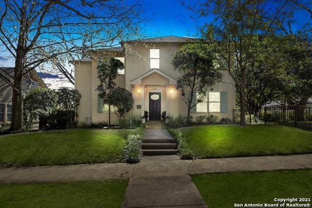 312 Blue Bonnet Blvd, Alamo Heights, TX 78209 (#1513057) :: The Perry Henderson Group at Berkshire Hathaway Texas Realty