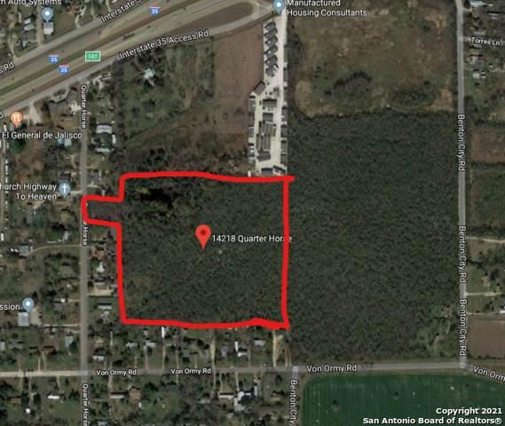 14218 Quarter Horse, Von Ormy, TX 78073 (MLS #1513349) :: Carolina Garcia Real Estate Group