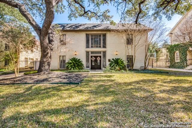 134 Park Dr, Olmos Park, TX 78212 (MLS #1515737) :: Keller Williams Heritage