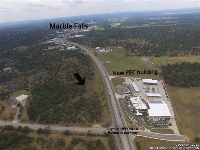 N HWY 281 3 Acres Tbd, Marble Falls, TX 78654 (MLS #1515894) :: The Glover Homes & Land Group