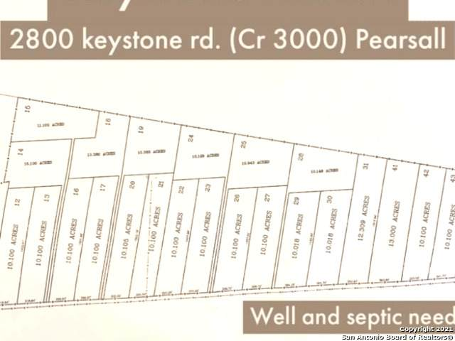 2800 Keystone Rd, Pearsall, TX 78061 (MLS #1516791) :: The Lugo Group