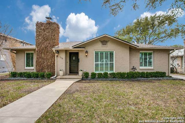 116 W Oakview Pl, Alamo Heights, TX 78209 (MLS #1518490) :: Keller Williams Heritage