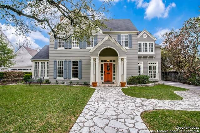 324 Ridgemont Ave, Terrell Hills, TX 78209 (MLS #1519210) :: The Gradiz Group