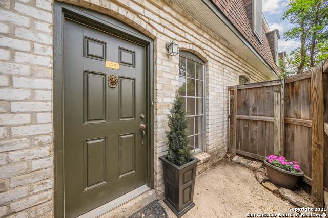 1045 Shook Ave 104A, San Antonio, TX 78212 (MLS #1519432) :: Keller Williams Heritage