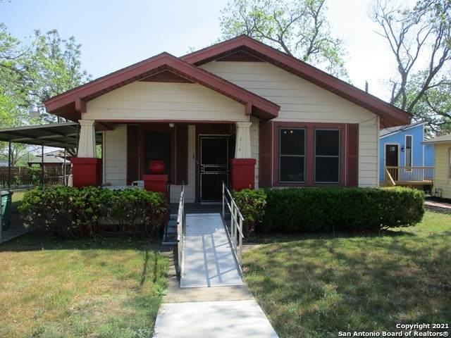 234 Dumoulin Ave, San Antonio, TX 78210 (MLS #1520024) :: Keller Williams Heritage