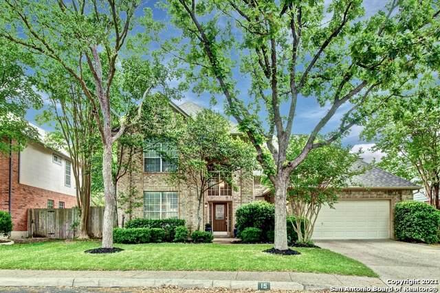 15 Grants Lake Dr, San Antonio, TX 78248 (MLS #1521003) :: The Real Estate Jesus Team
