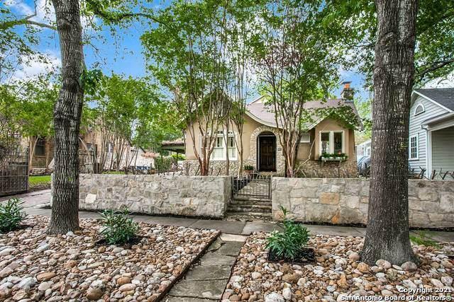 106 W Rosewood, San Antonio, TX 78212 (MLS #1521733) :: Santos and Sandberg