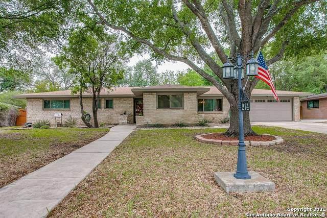 214 Oak Glen Dr, San Antonio, TX 78209 (MLS #1522474) :: The Glover Homes & Land Group