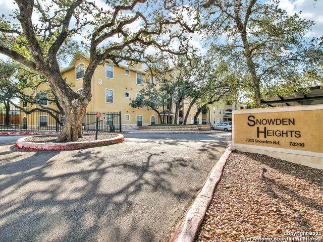 7323 Snowden Rd #1101, San Antonio, TX 78240 (MLS #1524852) :: The Lugo Group