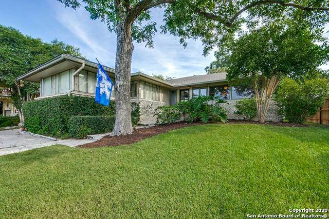 721 Morningside Dr, Terrell Hills, TX 78209 (MLS #1527080) :: Keller Williams Heritage
