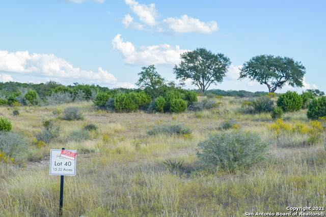 LOT 40 Phillip Ranch Rd, Boerne, TX 78006 (MLS #1527469) :: The Castillo Group
