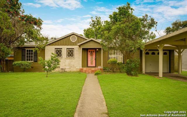 312 Larchmont Dr, San Antonio, TX 78209 (MLS #1535214) :: Bexar Team