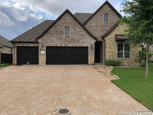 543 Mission Hill Run, New Braunfels, TX 78132 (#1537856) :: The Perry Henderson Group at Berkshire Hathaway Texas Realty