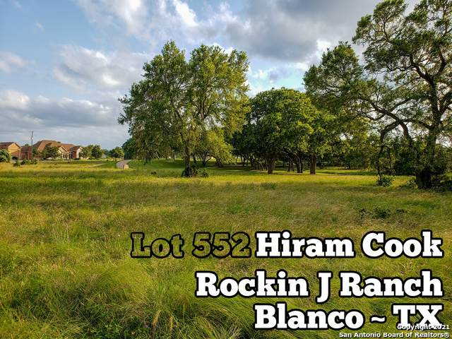 LOT 552 Hiram Cook, Blanco, TX 78606 (MLS #1538436) :: The Lugo Group