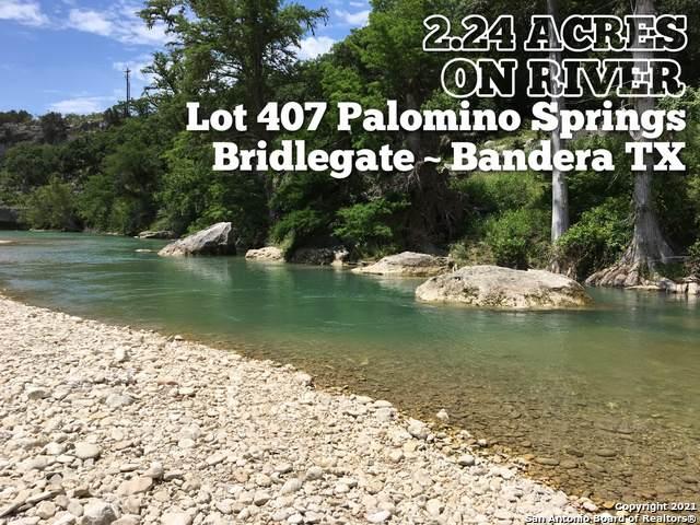 LOT 407 Palomino Spgs, Bandera, TX 78003 (MLS #1538509) :: Carter Fine Homes - Keller Williams Heritage