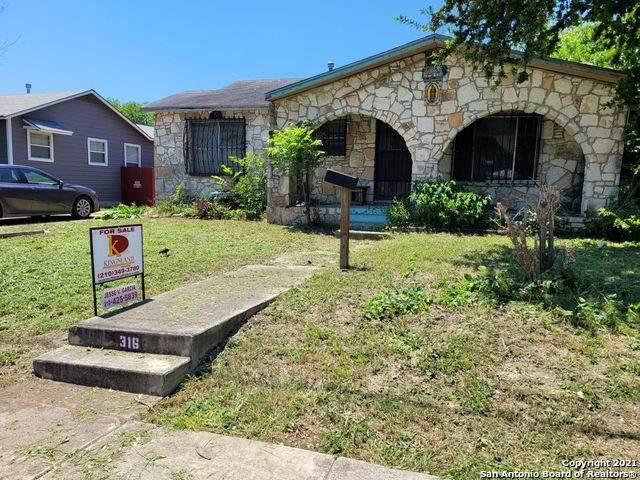 316 Canavan Ave, San Antonio, TX 78221 (MLS #1539180) :: The Lopez Group