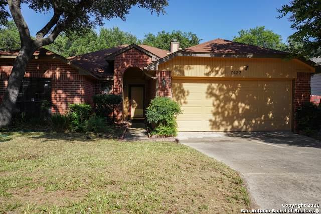 7422 Silent Hills, San Antonio, TX 78250 (MLS #1540028) :: Bexar Team
