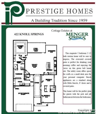 422 Knoll Springs, Boerne, TX 78006 (MLS #1540465) :: Concierge Realty of SA