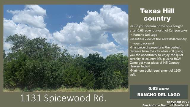 1131 Spice Wood Rd, Fischer, TX 78623 (MLS #1543252) :: The Lopez Group