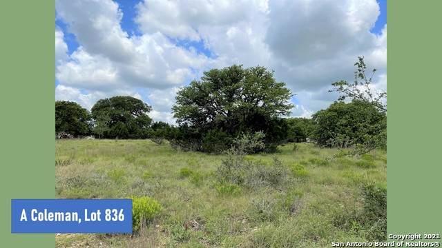 0 TBD A Coleman Ct, Blanco, TX 78606 (MLS #1543921) :: Concierge Realty of SA