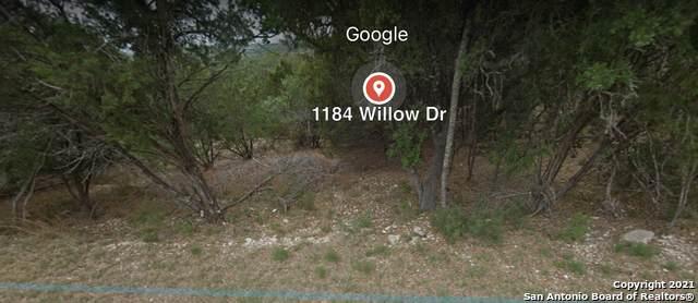 1184 Willow Dr, Canyon Lake, TX 78133 (MLS #1544865) :: The Gradiz Group