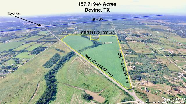 157.7 AC Highway 173, Devine, TX 78016 (MLS #1546298) :: ForSaleSanAntonioHomes.com