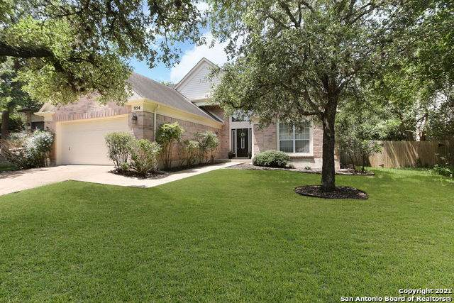 954 Riverstone Dr, San Antonio, TX 78258 (MLS #1547880) :: The Mullen Group   RE/MAX Access