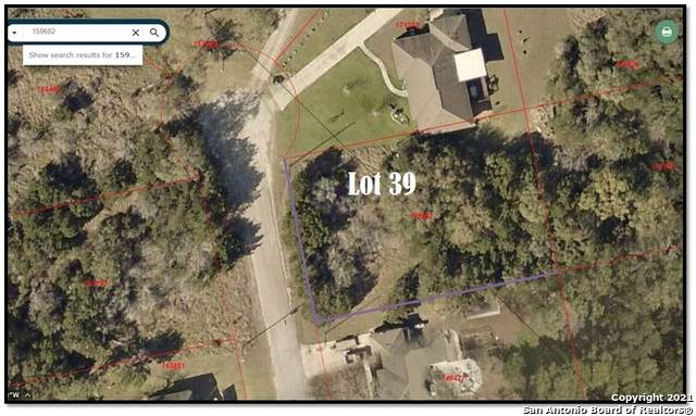 LOT 39 Moss Rose, Bandera, TX 78003 (MLS #1548385) :: Exquisite Properties, LLC