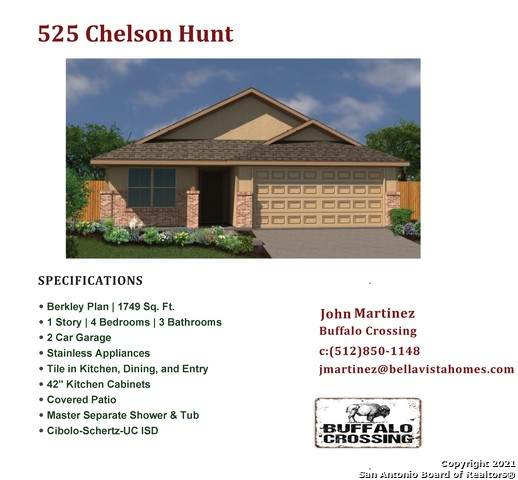 525 Chelson Hunt, Cibolo, TX 78108 (MLS #1548442) :: The Lopez Group