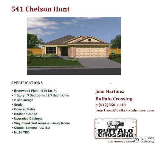 541 Chelson Hunt, Cibolo, TX 78108 (MLS #1548458) :: The Lopez Group