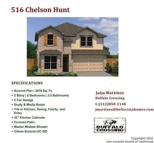 516 Chelson Hunt, Cibolo, TX 78108 (MLS #1548611) :: The Lopez Group